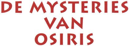De mysteries van Osiris